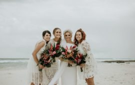 The Flower Cart - Tropical Wedding