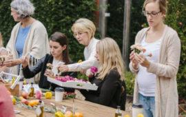 The Flower Cart - flower arranging workshops